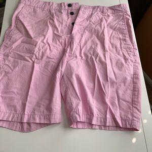 Men's Pink Light Weight Cargo Shorts H&M